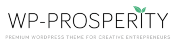 Screen Shot of the WP-Prosperity premium theme for WordPress