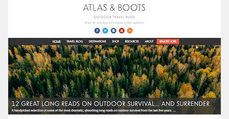 Atlas and Boots: Top Ten Best Travel Blog