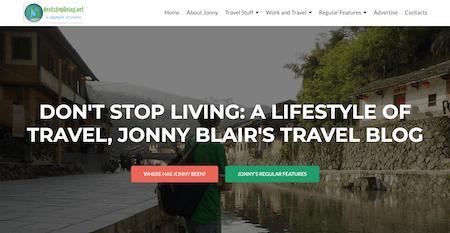 Don't Stop Living: Top Ten Best Travel Blog
