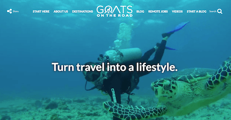 Goats on the Road: Top Ten Best Travel Blog