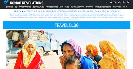 Nomad Revelations: Top Ten Best Travel Blog