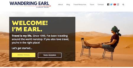 Wandering Earl Top Travel Blog